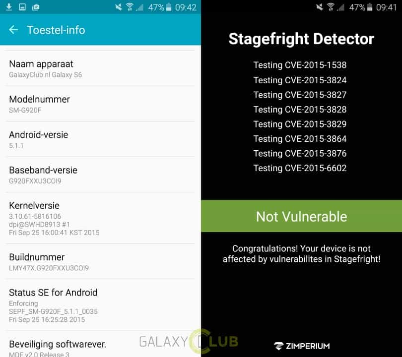 samsung-galaxy-s6-edge-unbranded-tmobile-stagefright-update Stagefright update bereikt unbranded & T-Mobile branded Galaxy S6, Galaxy S6 Edge (update 27 okt: Vodafone)