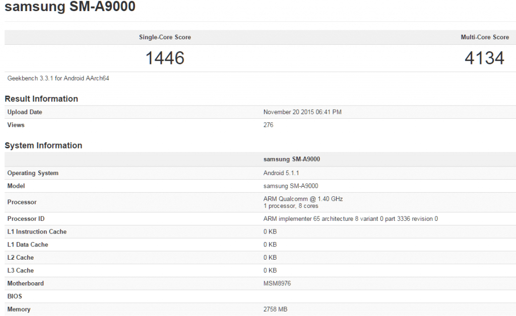 samsung-galaxy-a9-specs-geekbench-1024x628 Samsung Galaxy A9 duikt op in benchmark, toont specificaties