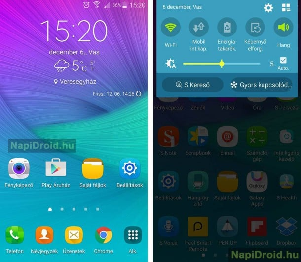 samsung-galaxy-note-4-android-6-marshmallow-update Android 6.0 Marshallow update arriveert op Hongaarse Samsung Galaxy Note 4 (update: video)