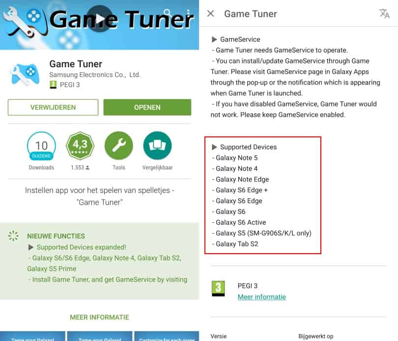 samsung-galaxy-note-4-edge-game-tuner-app-tip-compatible Game tip: Game Tuner app nu ook compatible met Galaxy Note 4 / Edge, Tab S2