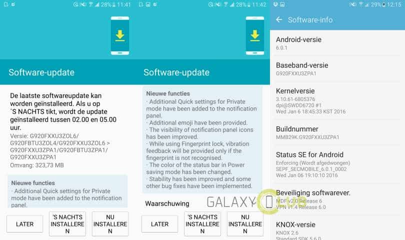 sammsung-galaxy-s6-marshmallow-6-0-1-update-info Samsung Galaxy S6 met beta-Marshmallow krijgt Android 6.0.1 update