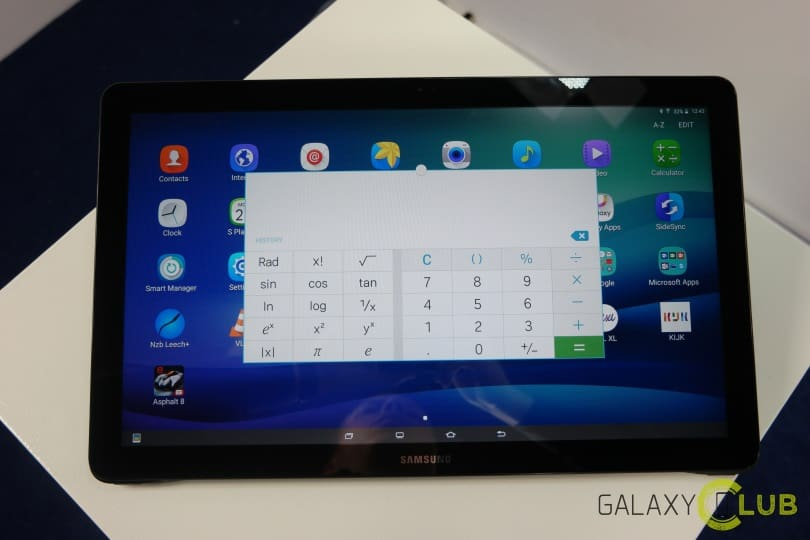 Galaxy View Review plat