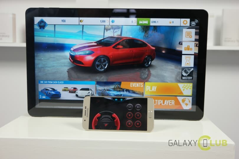 Samsung Galaxy View review S Console Game Pad