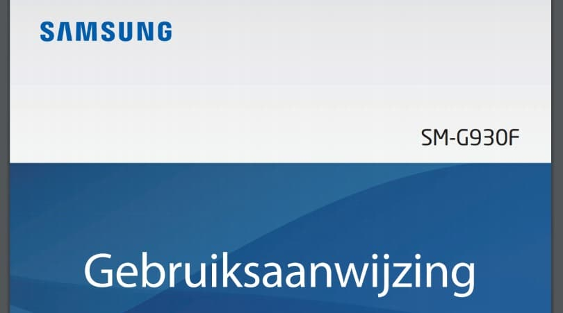 Samsung Galaxy S7 Edge Handleiding on samsung galaxy s6 plus
