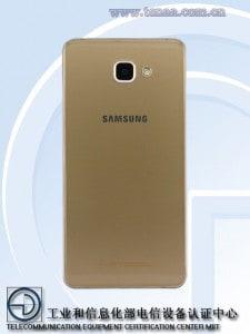 galaxy-a9-pro-achter-225x300 Metalen Samsung Galaxy J5 (2016), Galaxy J7 (2016) en A9 Pro op de foto