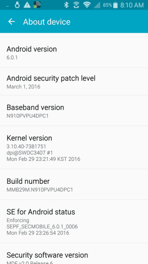 samsung-galaxy-note-4-android-marshmallow-update-van-start-vs-2 Eerste Galaxy Note 4 gebruik(st)ers krijgen update naar Android 6.0.1 Marshmallow (in de VS)