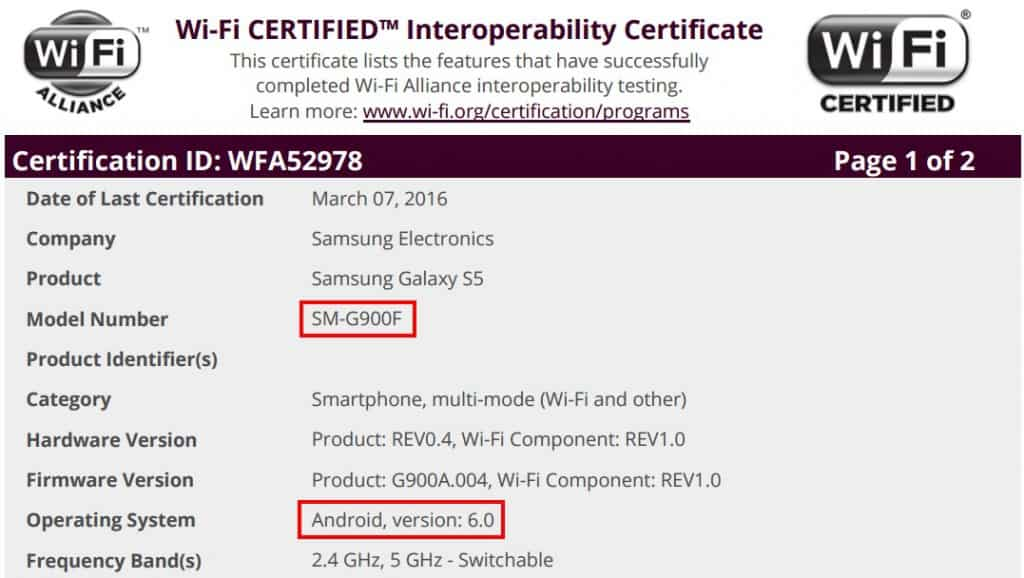 samsung-galaxy-s5-android-marshmallow-wifi-cert