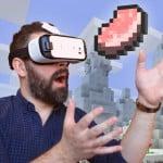 Nieuw: Minecraft op je Samsung Gear VR