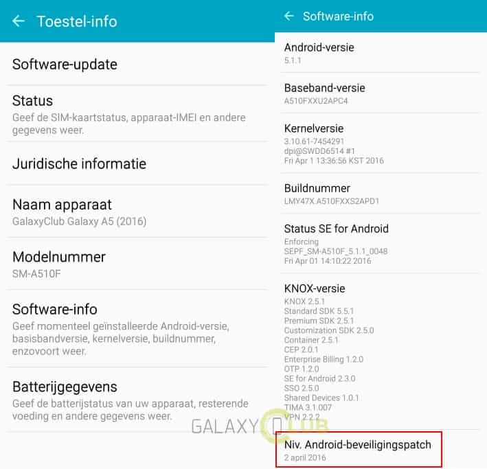 samsung-galaxy-a5-2016-april-security-patch-update-xxs2apd1 Update: Samsung Galaxy A5 (2016) krijgt april security patch
