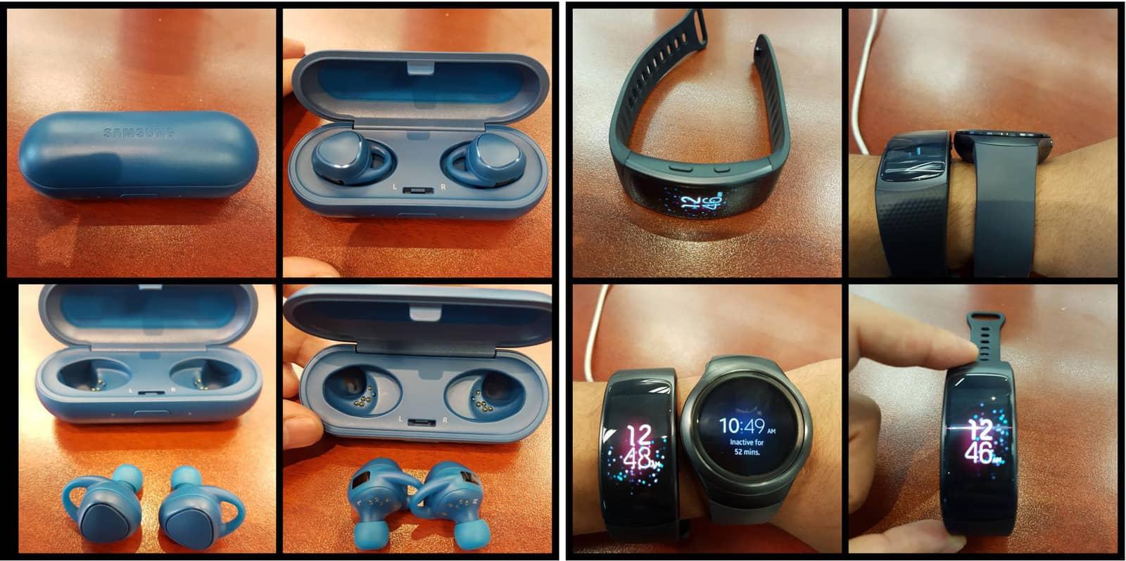 Samsung Gear Fit 2 Duikt Op Samen Met Gear Iconx Galaxy