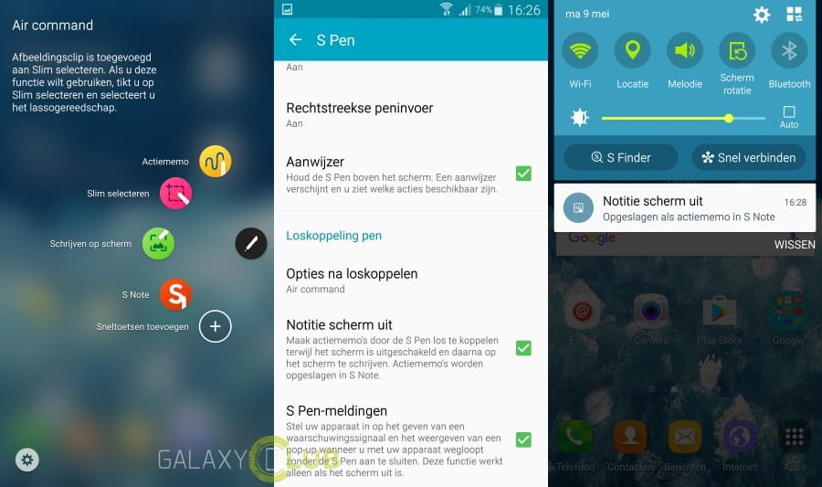 samsung-galaxy-note-4-android-marshmallow-nederland-2 Android Marshmallow arriveert op Galaxy Note 4 SM-N910F (update 24-6: unbranded)