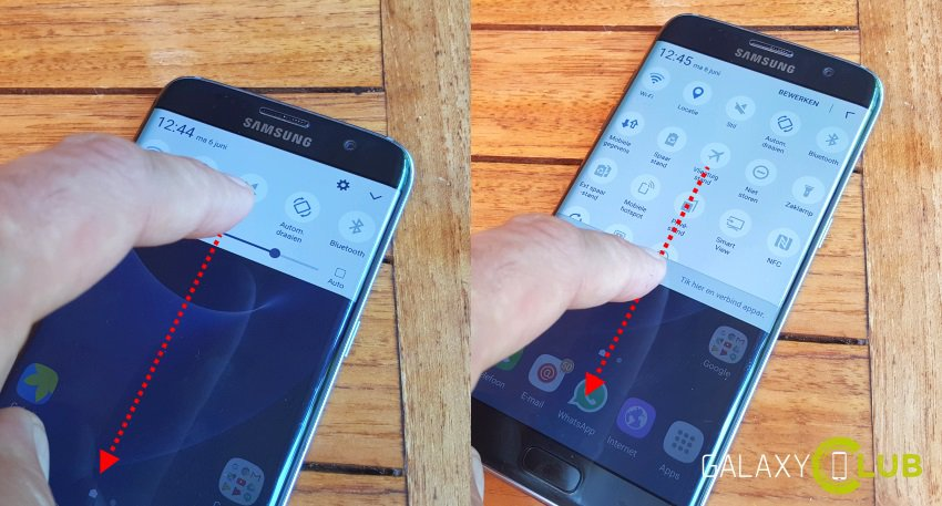galaxy-s7-edge-tip-shortcuts-twee-keer-vegen-sneltoetsen Samsung Galaxy S7 (Edge) tip: een hand vol handige shortcuts