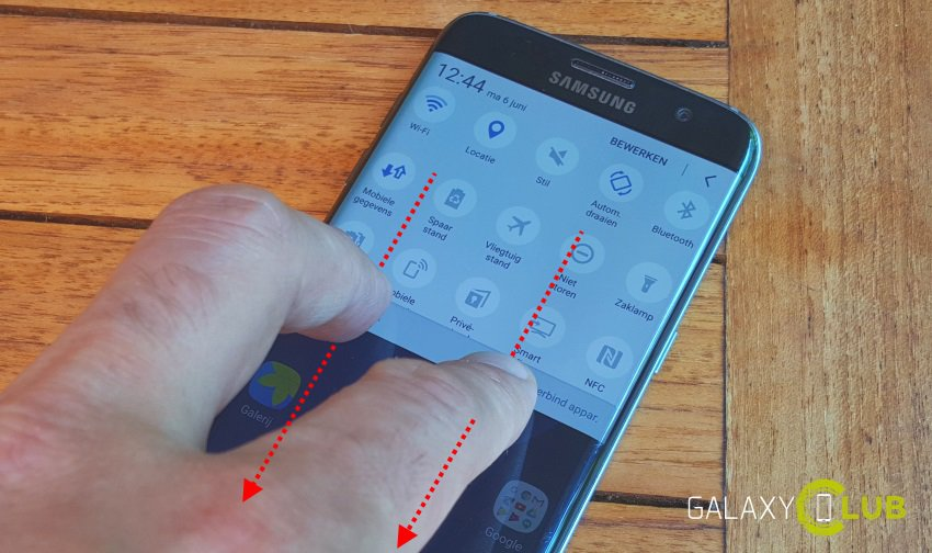 galaxy-s7-edge-tip-shortcuts-twee-vingers-sneltoetsen Samsung Galaxy S7 (Edge) tip: een hand vol handige shortcuts
