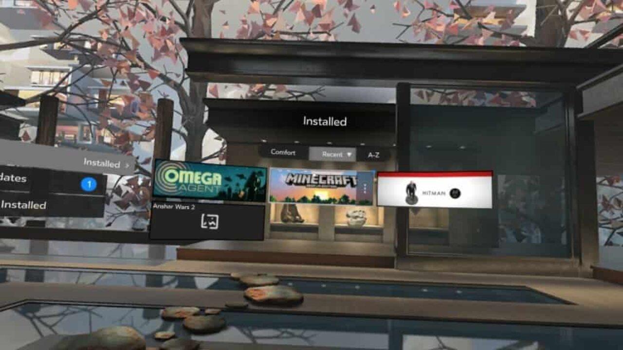 Update Oculus app voor Gear VR brengt vernieuwde interface
