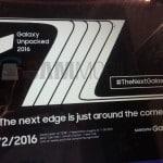 Onthulling Samsung Galaxy Note 7 en/of Note 7 Edge mogelijk op 2 augustus