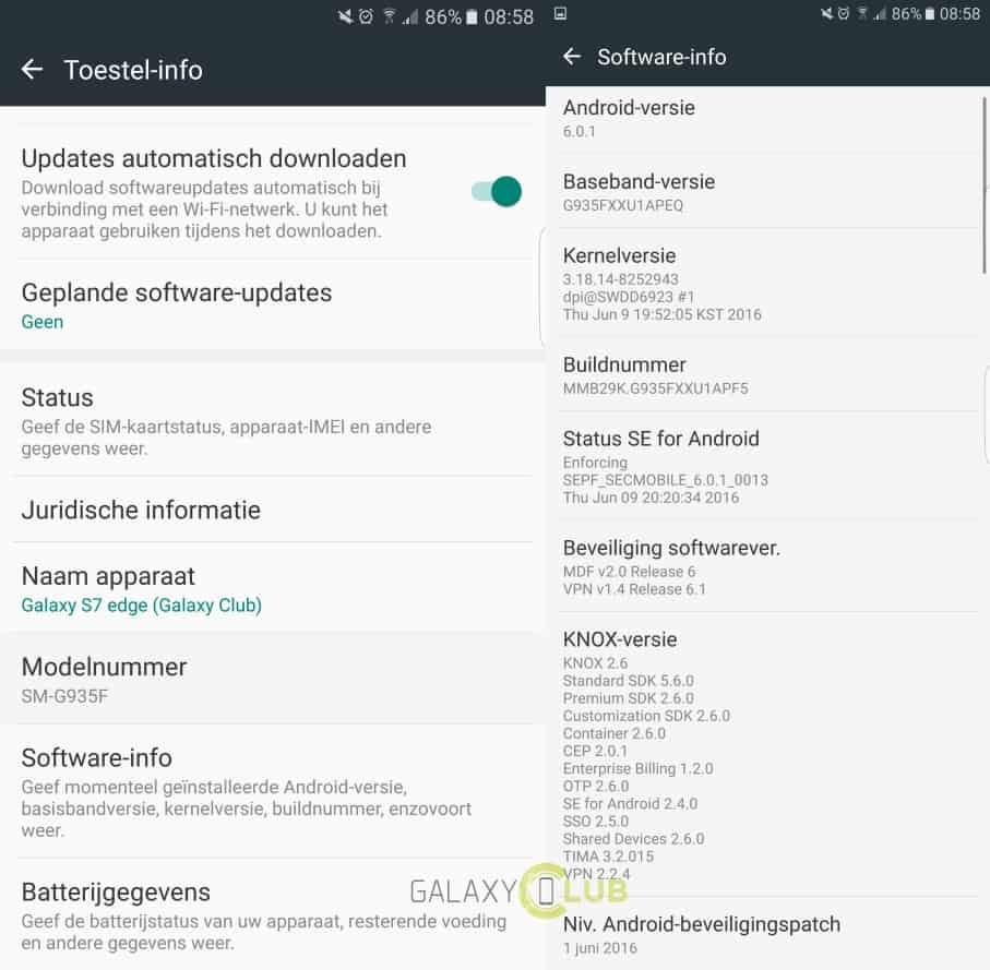 samsung-galaxy-s7-edge-nederland-update-xxu1apf5 Opnieuw update Nederlandse Samsung Galaxy S7 en S7 Edge