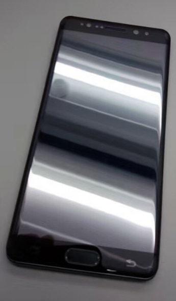 samsung-galaxy-note-7-foto-zwart-2 Op de foto: prototype Galaxy Note 7 in het zwart