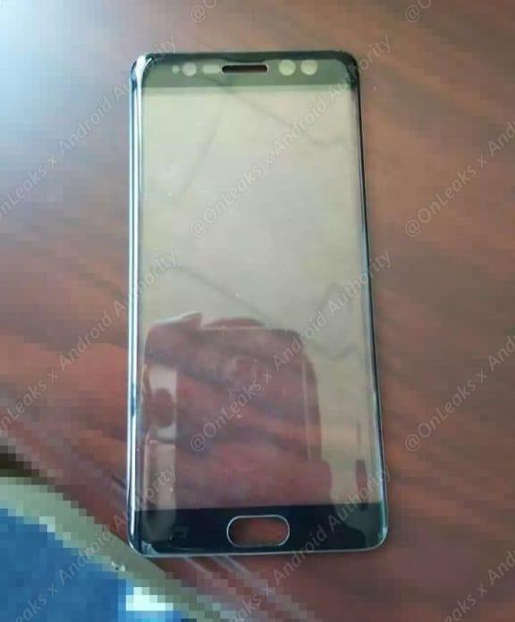samsung-galaxy-note-7-voorkant-irisscanner-sensors Voorkant Samsung Galaxy Note 7 lijkt irisscanner te bevestigen