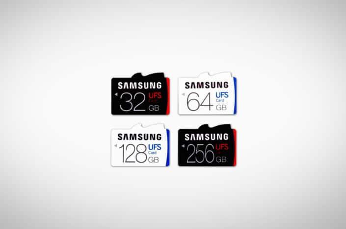 samsung-ufs-micro-sd-kaart-256gb Samsung lanceert 's werelds eerste UFS geheugenkaart met 256GB capaciteit