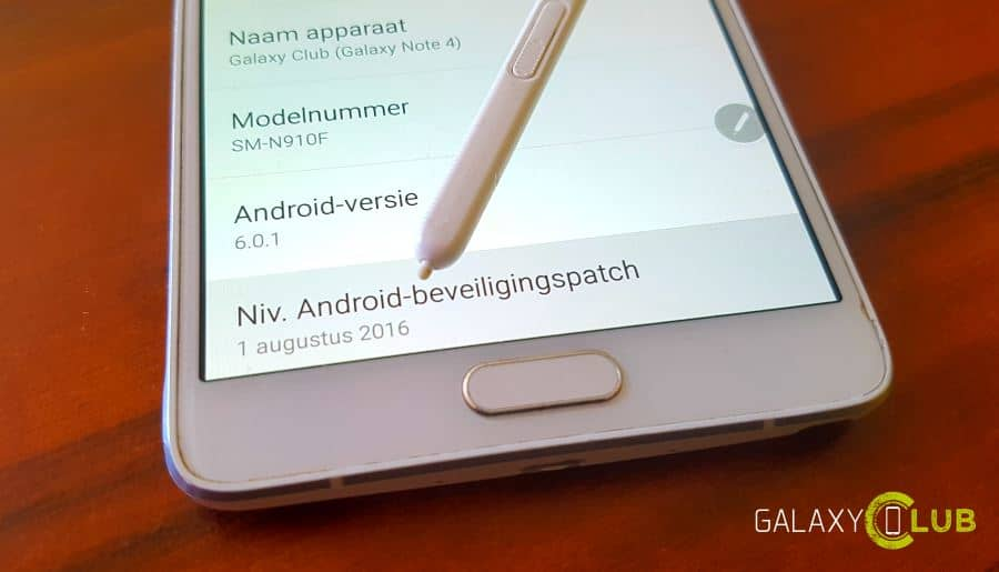 galaxy-note-4-augustus-patch-gc Unbranded Galaxy Note 4 krijgt security patch augustus (update 25-8: Vodafone ook)