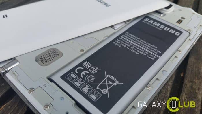 galaxy-note-4-batterij Vergelijking en verschillen: Samsung Galaxy Note 7 versus Galaxy Note 4