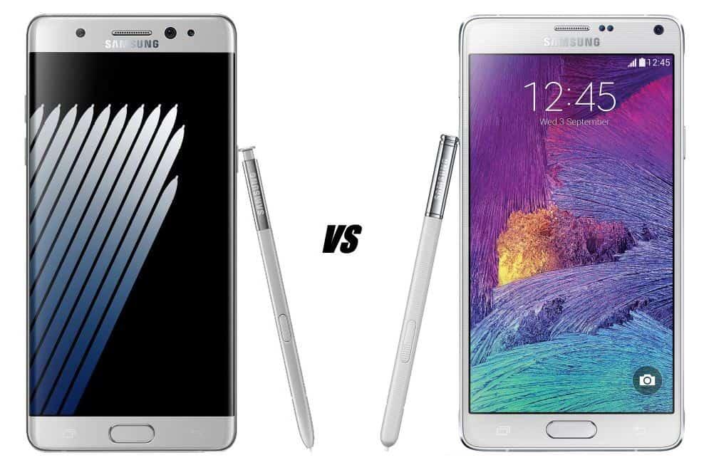 galaxy-note-7-versus-galaxy-note-4-vergelijking-verschillen Vergelijking en verschillen: Samsung Galaxy Note 7 versus Galaxy Note 4