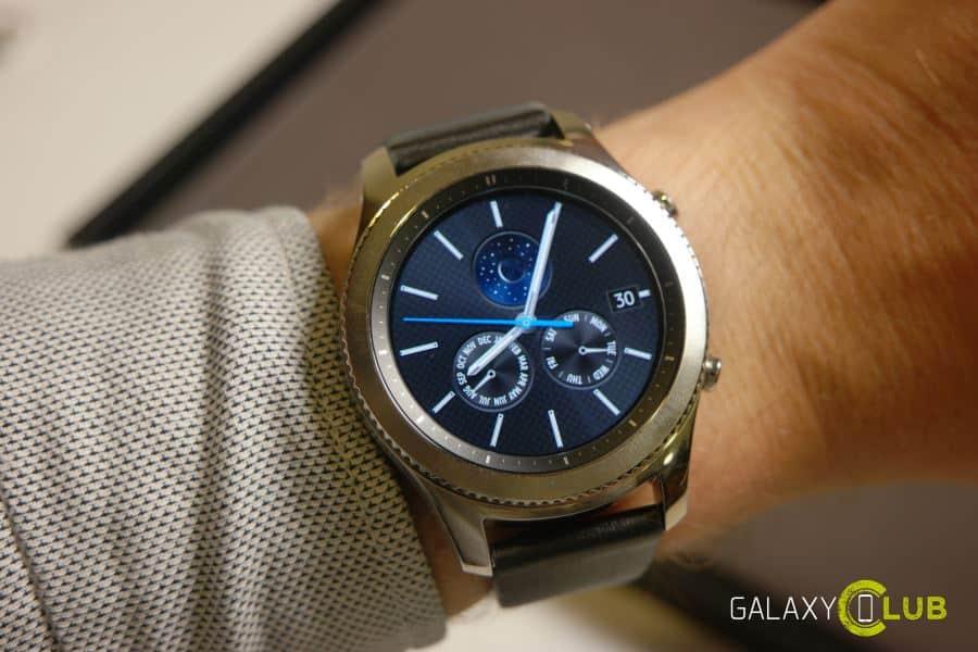 gear-s3-classic Dit is de nieuwe Samsung Gear S3, komt in Classic en Frontier uitvoeringen