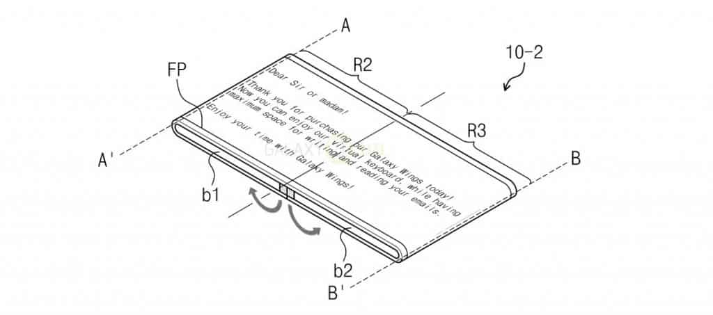 galaxy-wings-patent-1-1024x453 Samsung patenteert 'Galaxy Wings' concept: multifunctioneel opvouwbare Galaxy