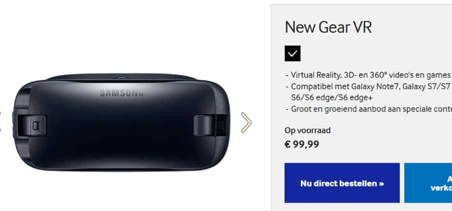 samsung-nieuwe-gear-vr-kopen-usb-c Samsung's 'New Gear VR' met USB type-C nu in Nederland verkrijgbaar