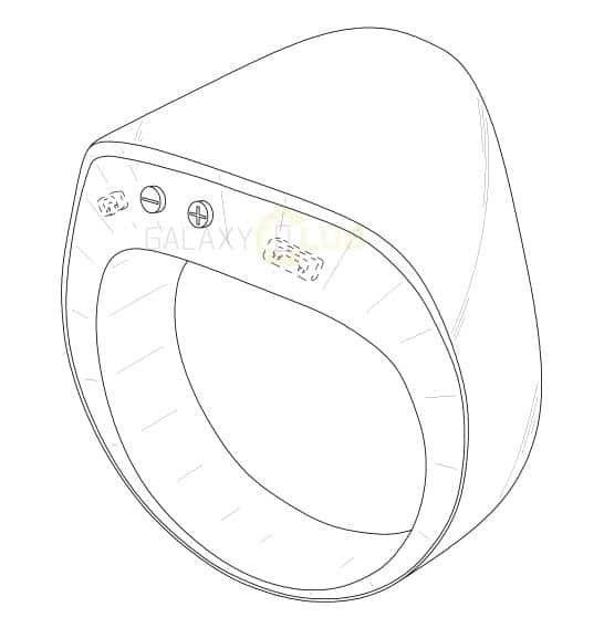 samsung-smart-ring-patent Samsung patent toont gevorderd ontwerp slimme ring (update)