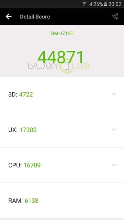 galaxy-j7-2016-exynos-7870-antutu-benchmark-score Samsung Galaxy J7 (2016) met 14 nm Exynos 7870 processor: een handjevol benchmarks