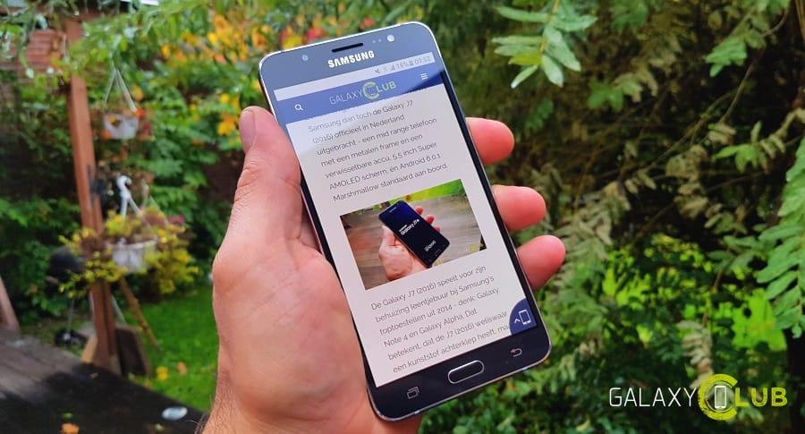 galaxy-j7-2016-preview-eerste-indrukken Samsung Galaxy J7 (2016) review: grote midrange telefoon met een enorme accu