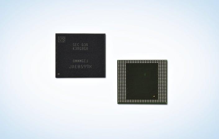 samsung-8gb-lpddr4-10nm-galaxy-s8 Samsung introduceert eerste 8 GB LPDDR4 geheugenmodule, mogelijk voor de Galaxy S8