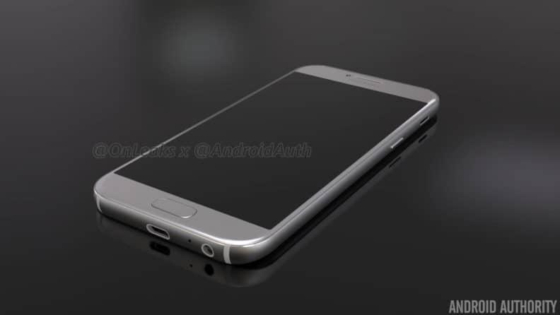 samsung-galaxy-a5-2017-render-2 Renders aankomende Samsung Galaxy A5 (2017) duiken op