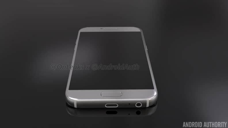 samsung-galaxy-a5-2017-render-3 Renders aankomende Samsung Galaxy A5 (2017) duiken op