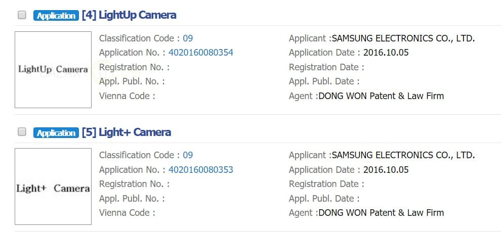 samsung-galaxy-S8-LightUp plus camera dual-cam sensor trademark