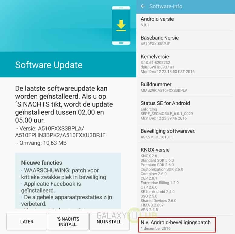 galaxy-a5-2016-december-patch-update-xxs3bpla Meer december security patches: de Galaxy A5 (2016) doet ook mee