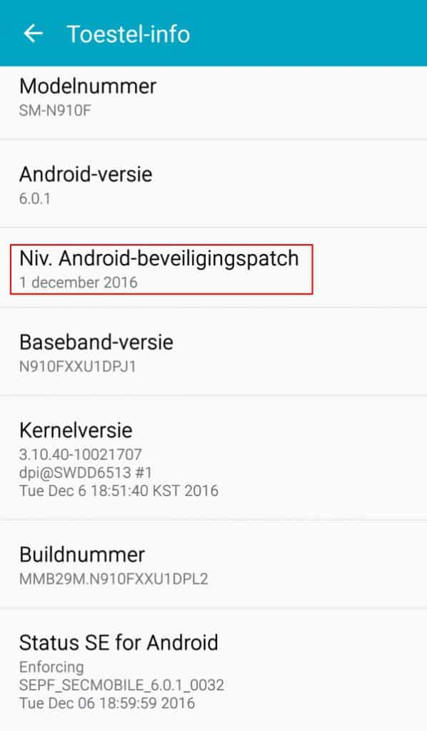 galaxy-note-4-update-security-patch-december-xxu1dpl2-598x1024 Update brengt december security patch naar Galaxy Note 4 (update 4.1: Note Edge)