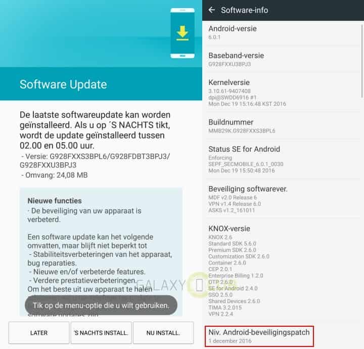 galaxy-s6-edge-plus-december-security-patch-g928fxxs3bpl6 December security patch beschikbaar voor de Galaxy S6 Edge Plus, Galaxy S5 Plus