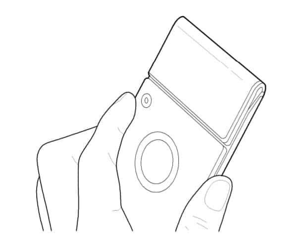 samsung-flexibled-device-design-patent-5 Meer flexibele devices: Samsung patent toont vouwbare camera smartphone