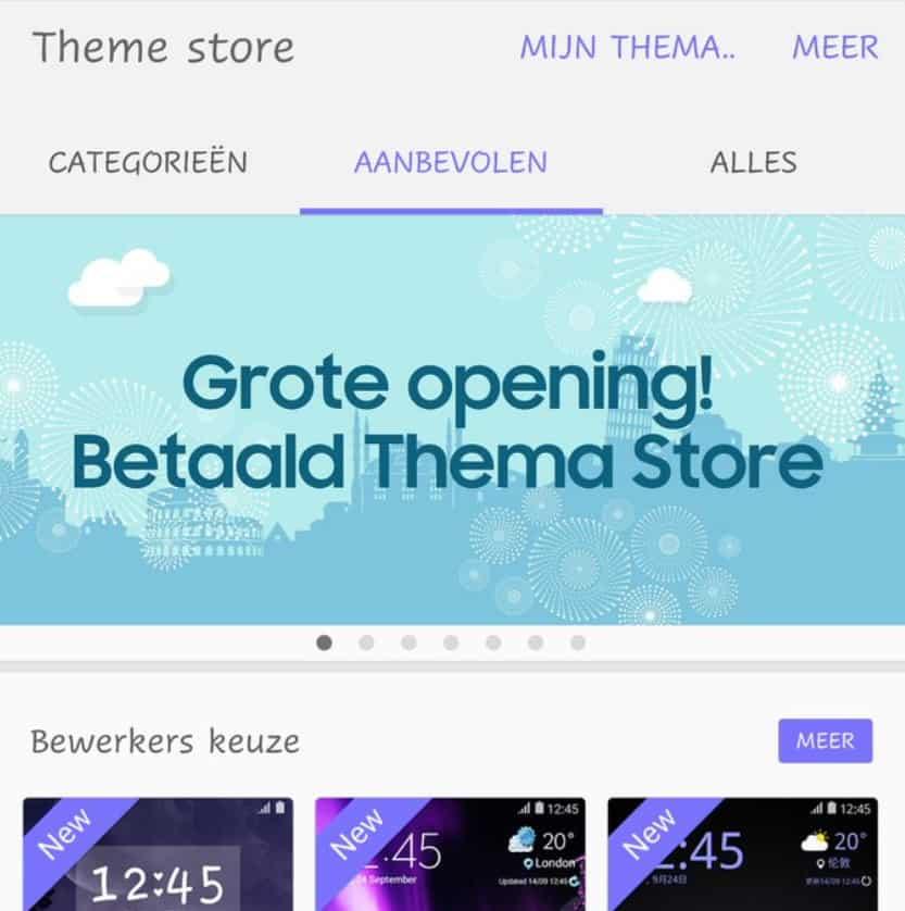 samsung-theme-store-betaalde-themas-nederland