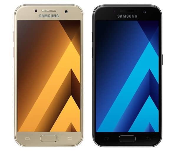galaxy-a3-2017-voor Samsung lanceert officieel de Galaxy A3 (2017) en de Galaxy A5 (2017)