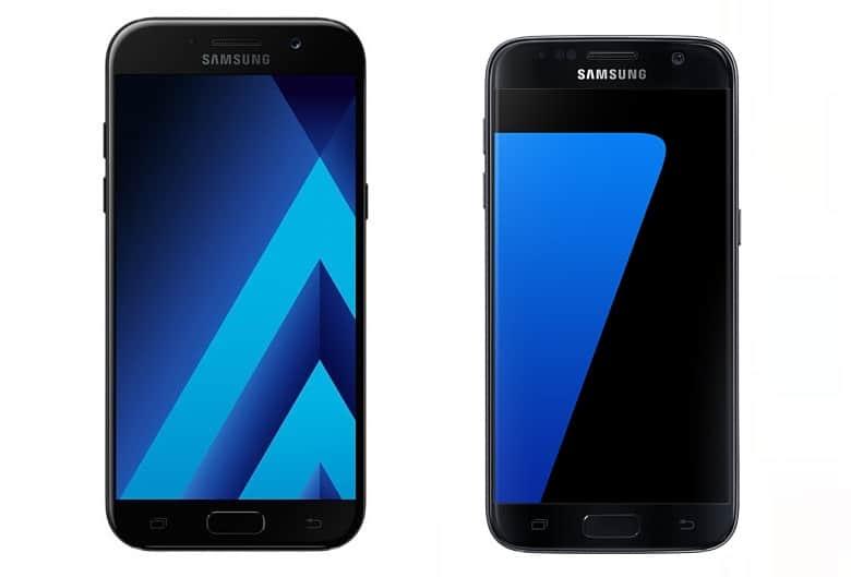 galaxy-a5-2017-versus-galaxy-s7-vergelijking-verschillen-2 Vergelijking: Galaxy A5 (2017) versus Galaxy S7, de verschillen