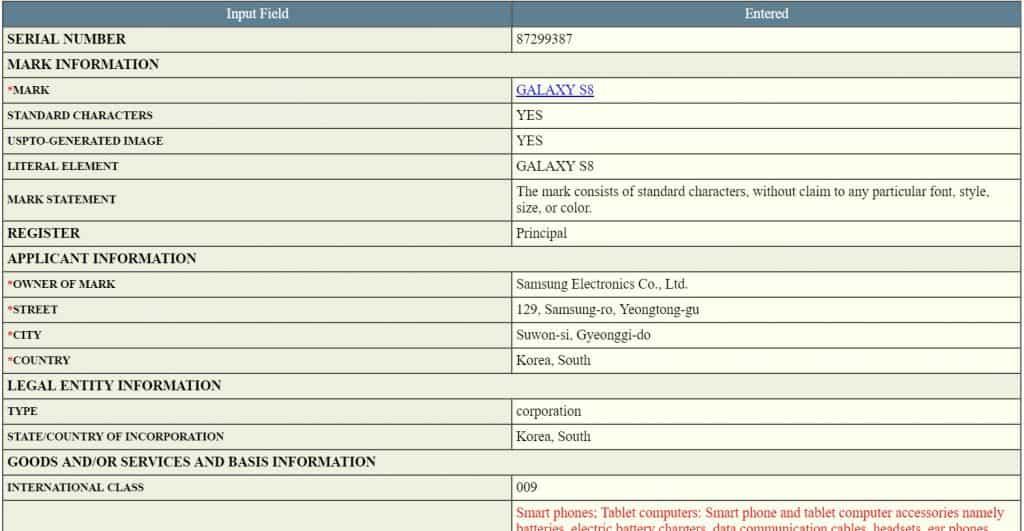 samsung-galaxy-s8-trademark-1024x531 Samsung legt alvast merknaam Galaxy S8 vast