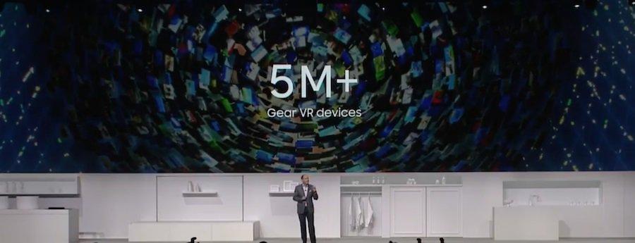 samsung-gear-vr-verkoopaantallen-5-miljoen Mijlpaal: Samsung verscheept 5 miljoen stuks van de Gear VR