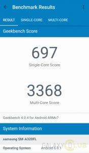 galaxy-a3-2017-benchmark-geekbench-175x300 Galaxy A3 (2017) met Exynos 7870 doet benchmarks, verrast niet