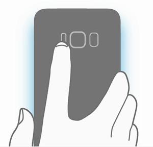 galaxy-s8-vingerscanner-achter Uitgelekte afbeelding toont Samsung DeX en meer on-screen toetsen voor de Galaxy S8