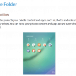 galaxy-tab-s3-secure-folder-150x150 Galaxy Tab S3 handleiding toont Android Nougat interface, Note-achtige ambities