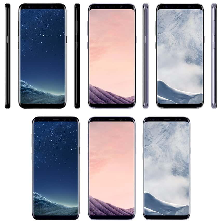 Samsung-Galaxy-S8-S8-Plus-Colors1 Evan Blass verklapt Europese prijzen en kleuren van de Galaxy S8 en S8 Plus