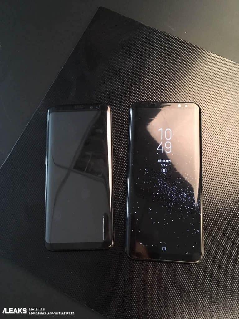 galaxy-s8-foto-zwart-768x1024 Samsung's processortak belicht dual-camera features van de processor van de Galaxy S8 (+meer info over releasedatum)
